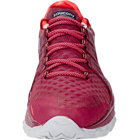 saucony Xodus ISO 2 Shoes Women Berry/Coral